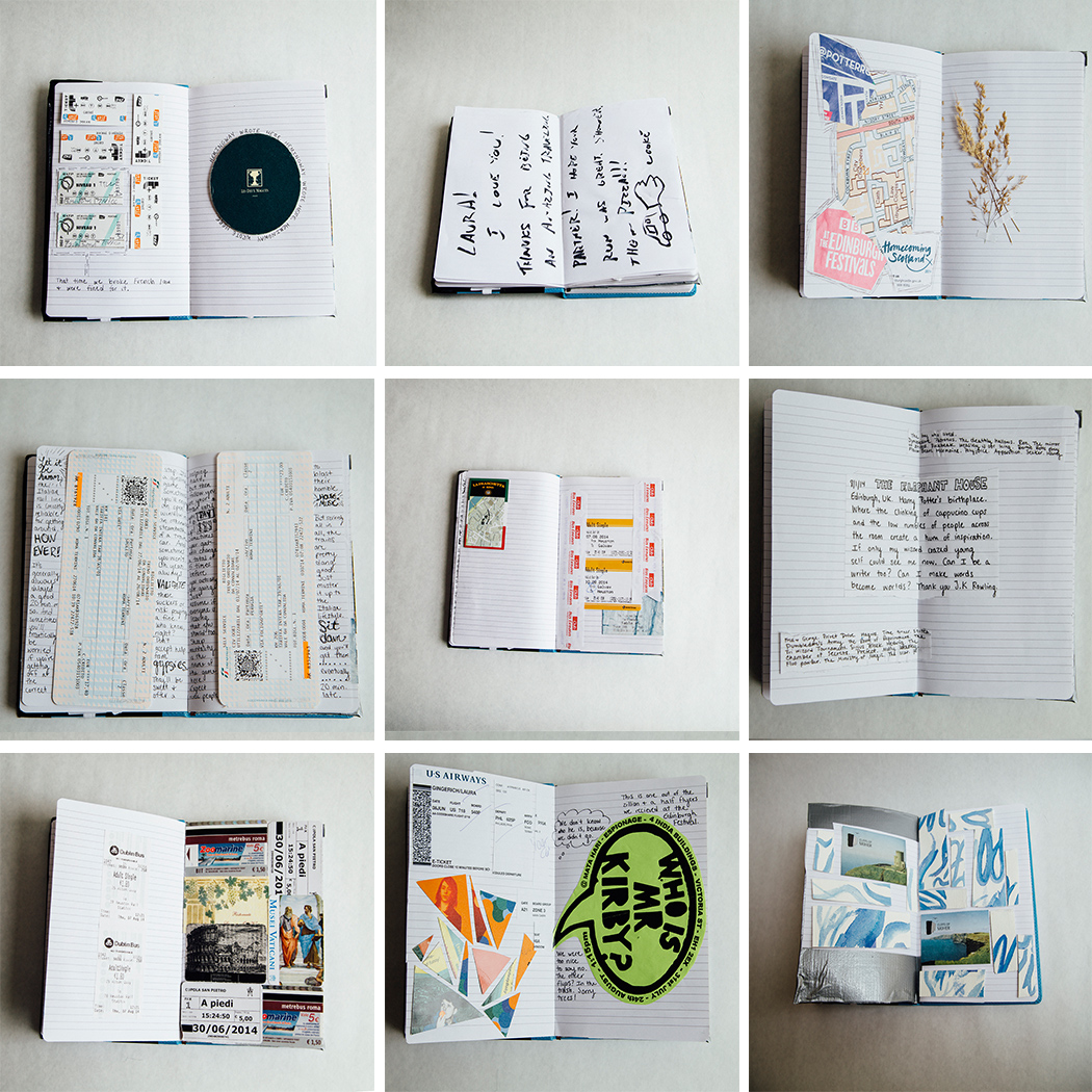 A Look Inside My European Scrapbook