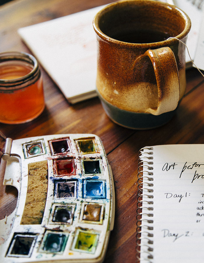 Art Before Breakfast + 5 Tips For A More Creative Morning
