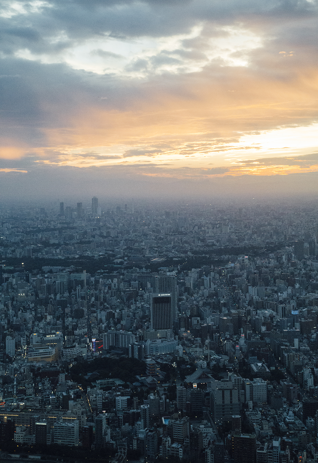 On Top Of The World At Tokyo Skytree