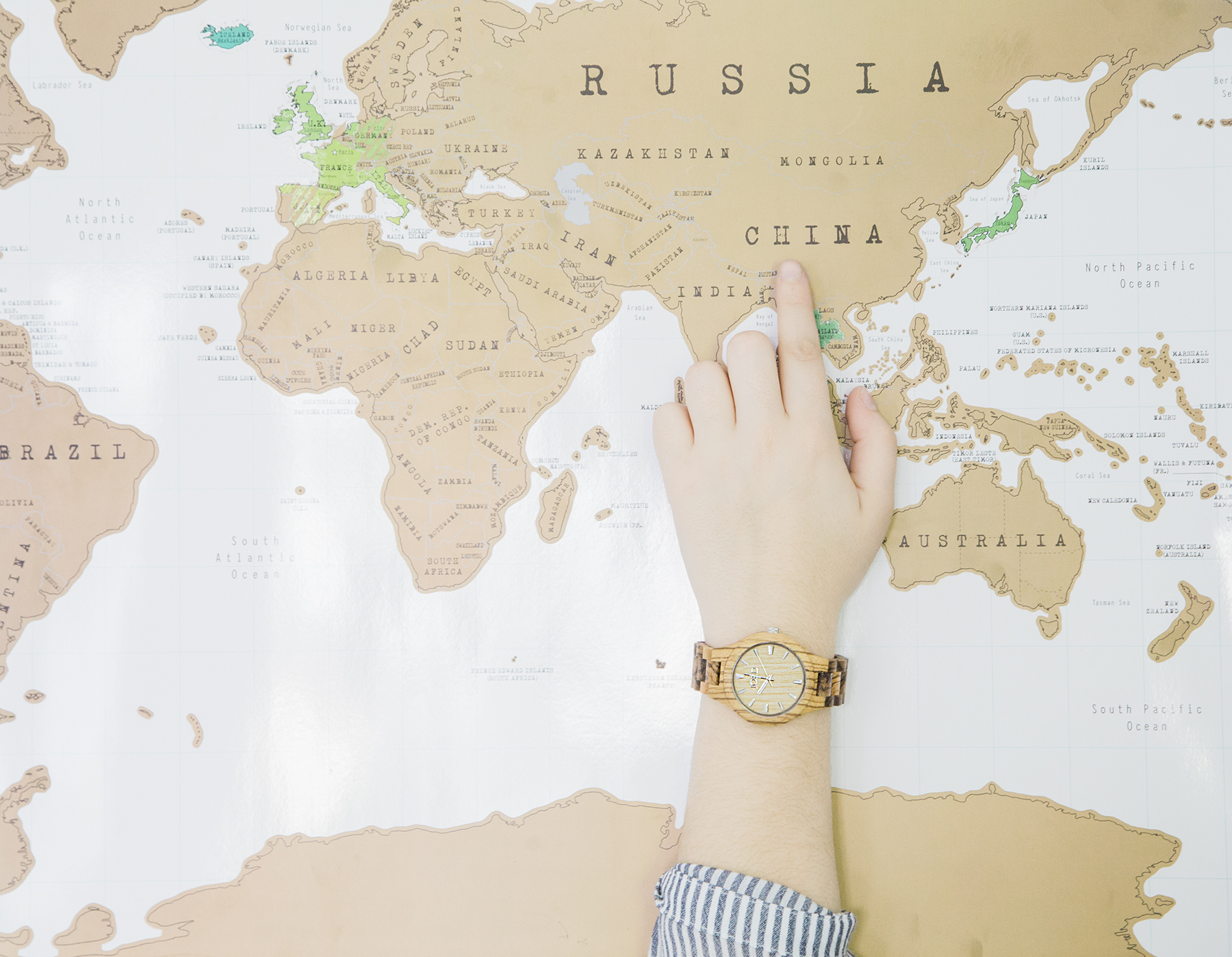 Why We Travel & A JORD Wood Watch Giveaway | ROAM + GOLIGHTLY