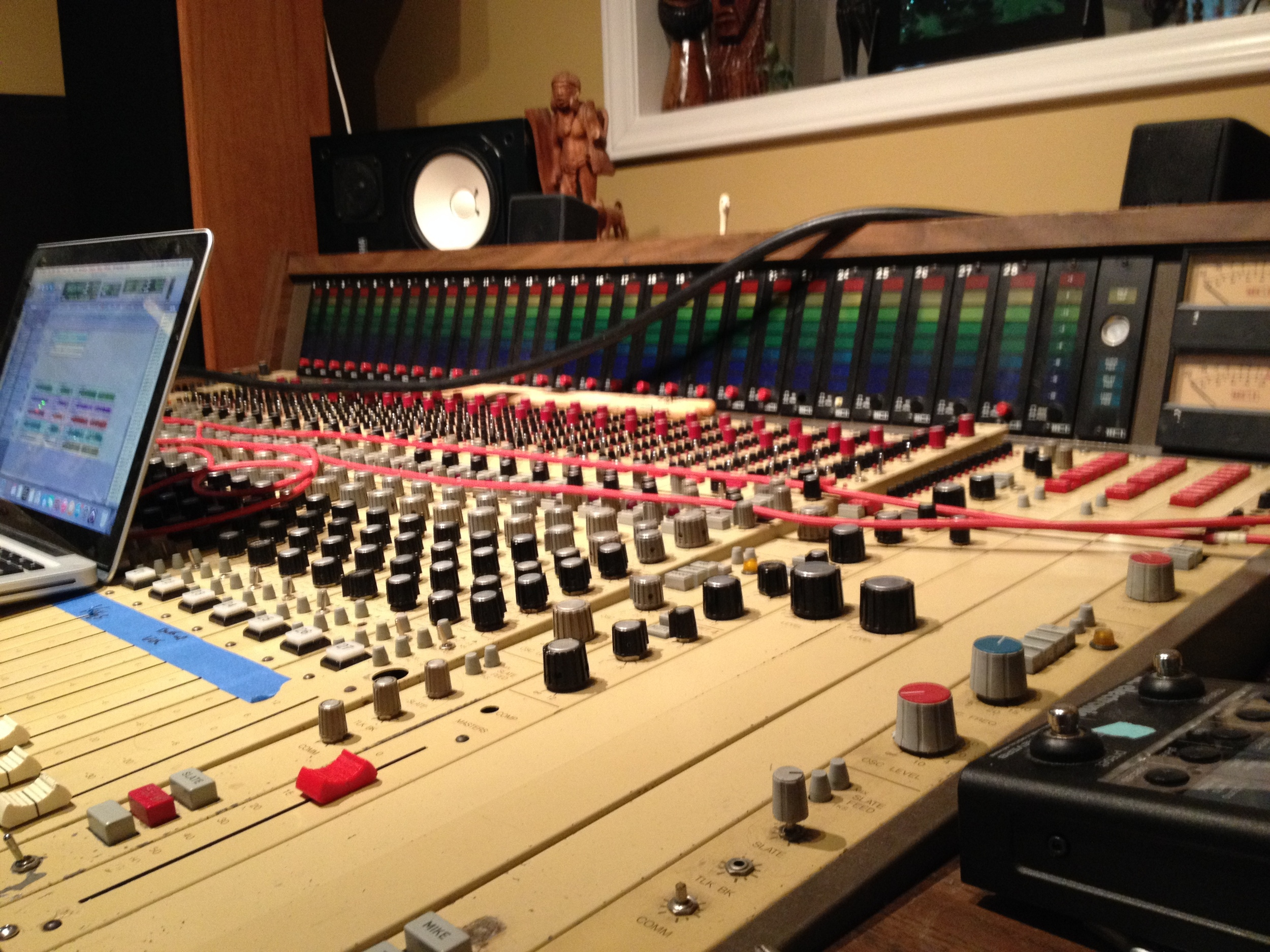 Recording Mr. Blue Sky EP