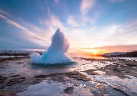 Geysir hot spring