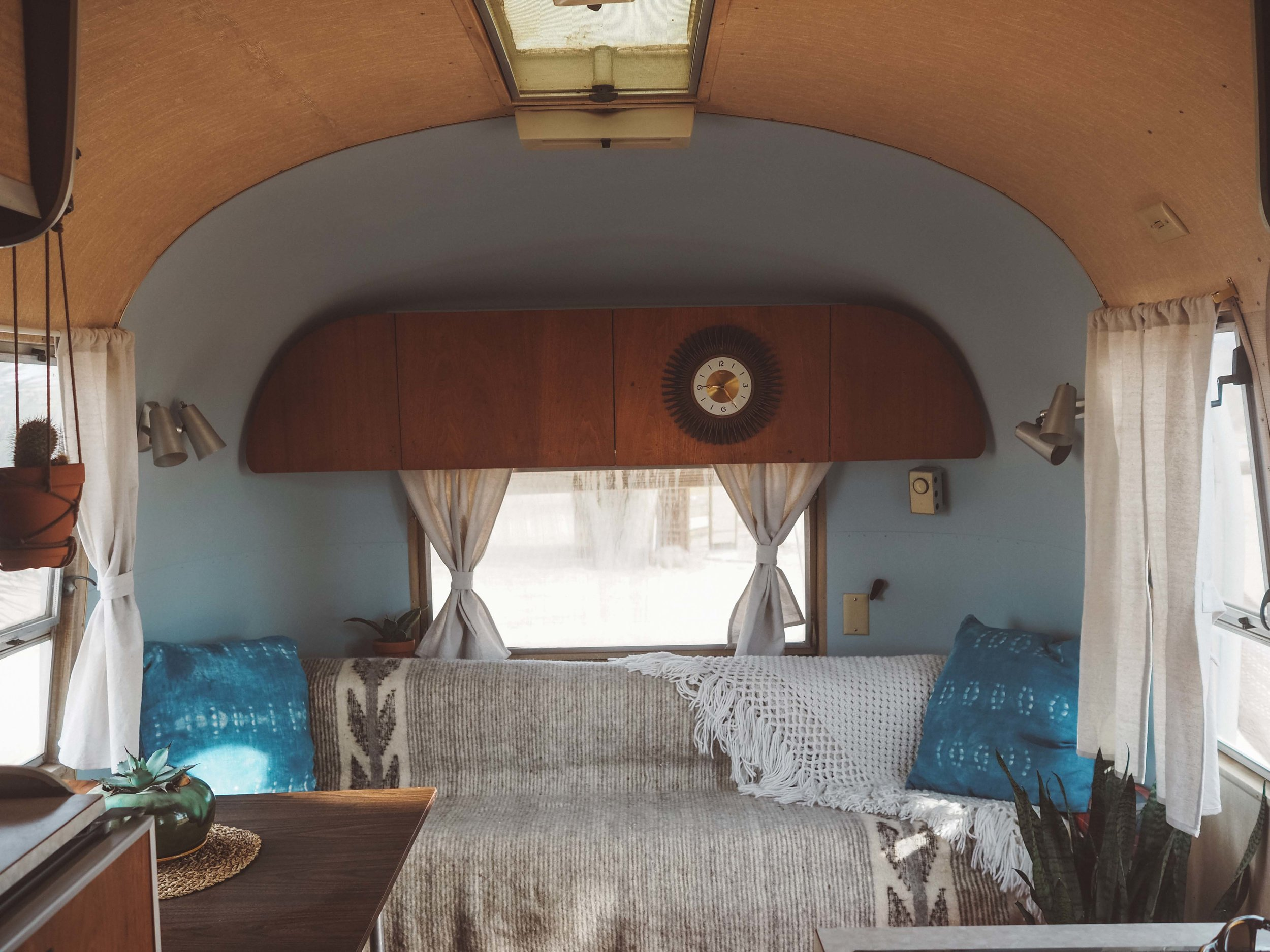1964 Airstream interior