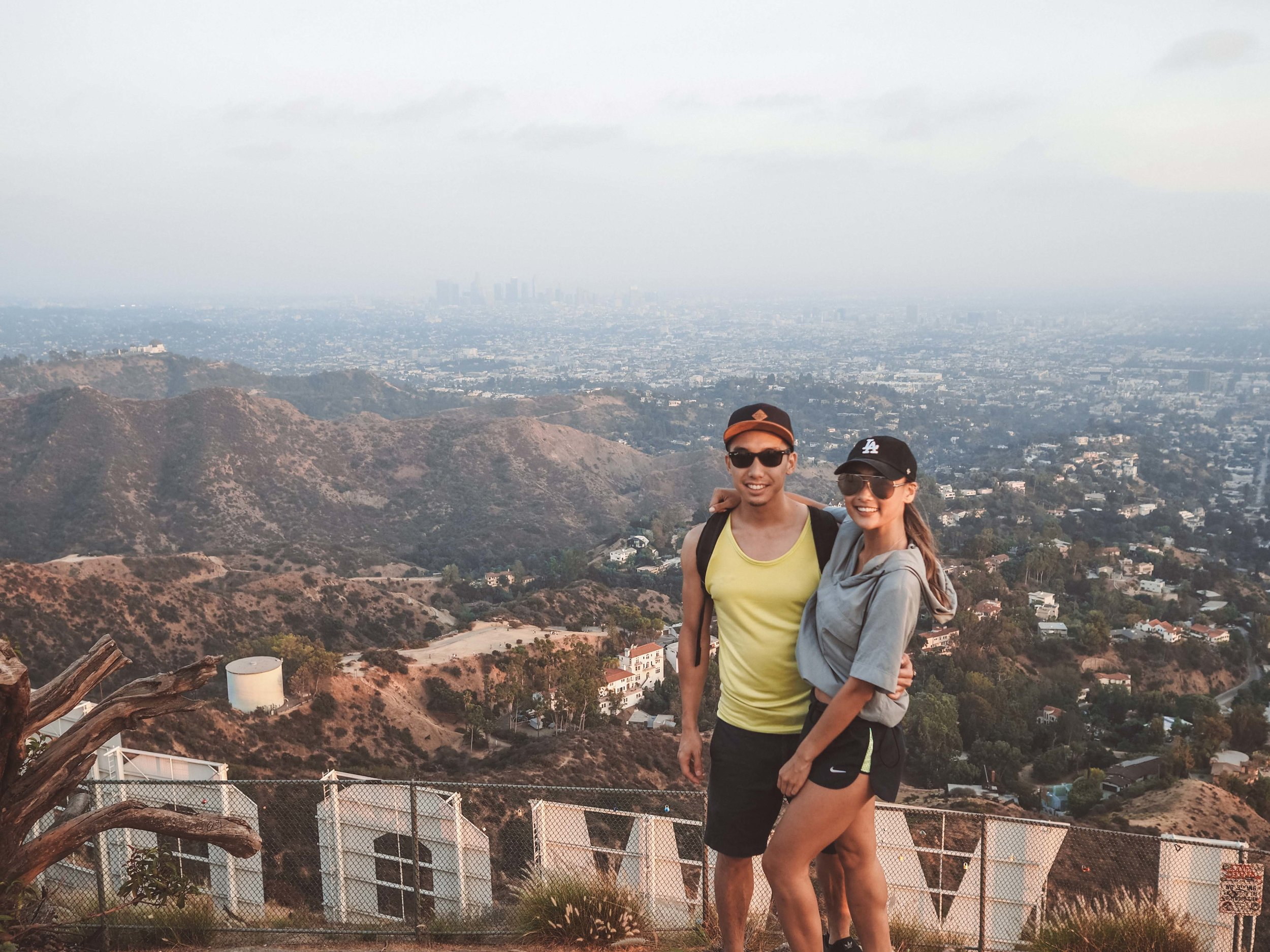 Scenic point 2: Back of the Hollywood Sign