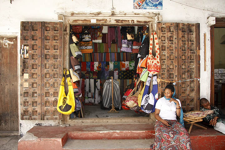 Zanzibar curio shop