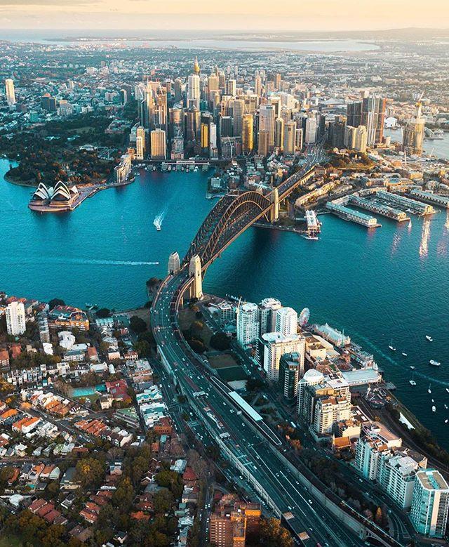 beautiful views from above in Sydney, Australia ✨ #OnMyWanderlist