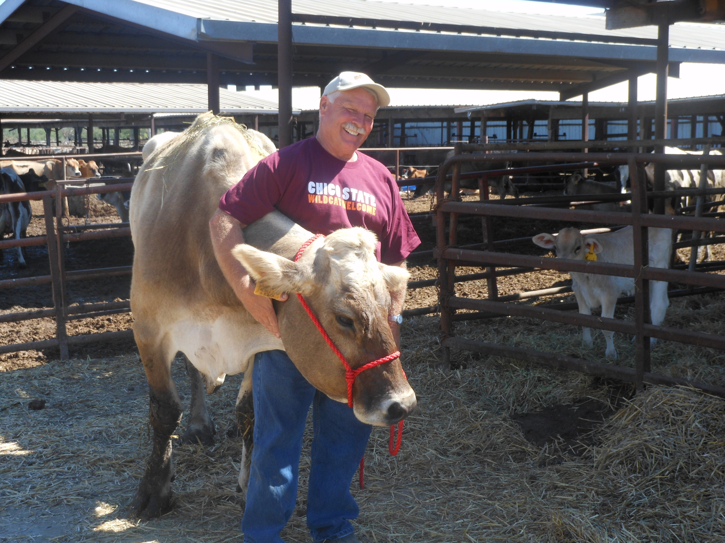 Schroer Dairy, Jim Shroer and Tray Robinson