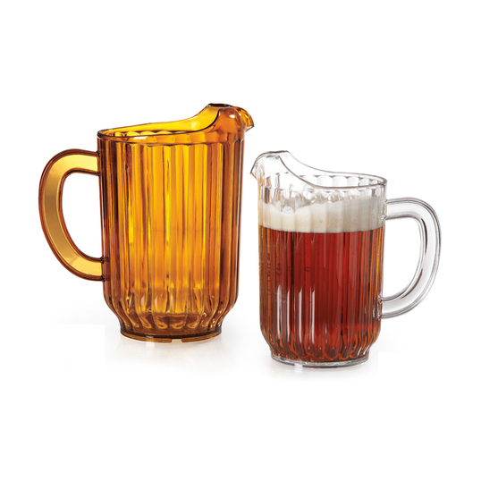 60 oz. Break-Resistant Pitcher, 100% BPA Free, Amber or Clear  Regularly $7.25, Sale $5.95