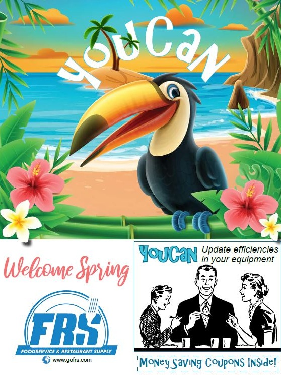 Restaurant Supply in the Carolinas | FRS | Spring Flyer