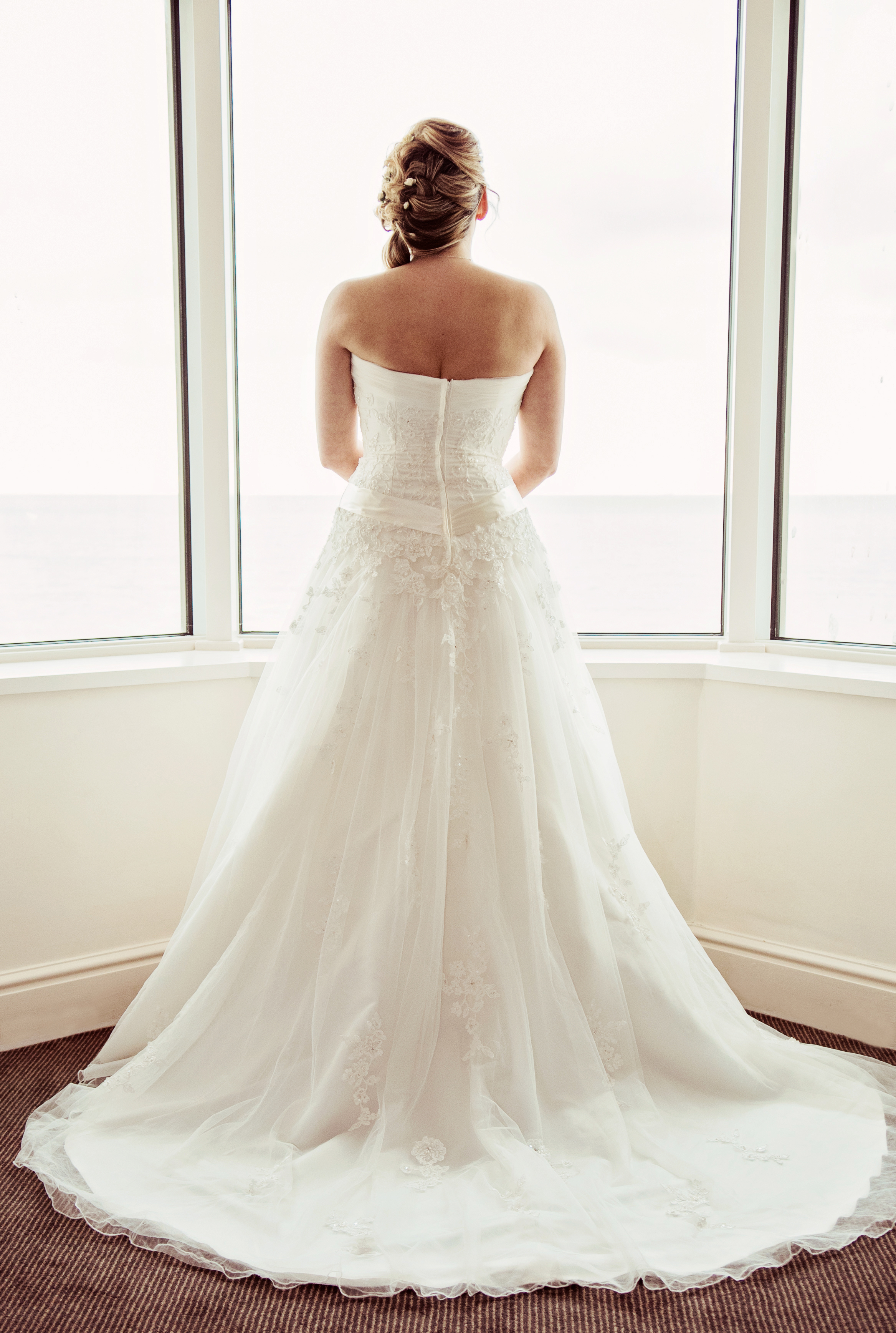 Wedding dress, Waterfront Hotel Brighton