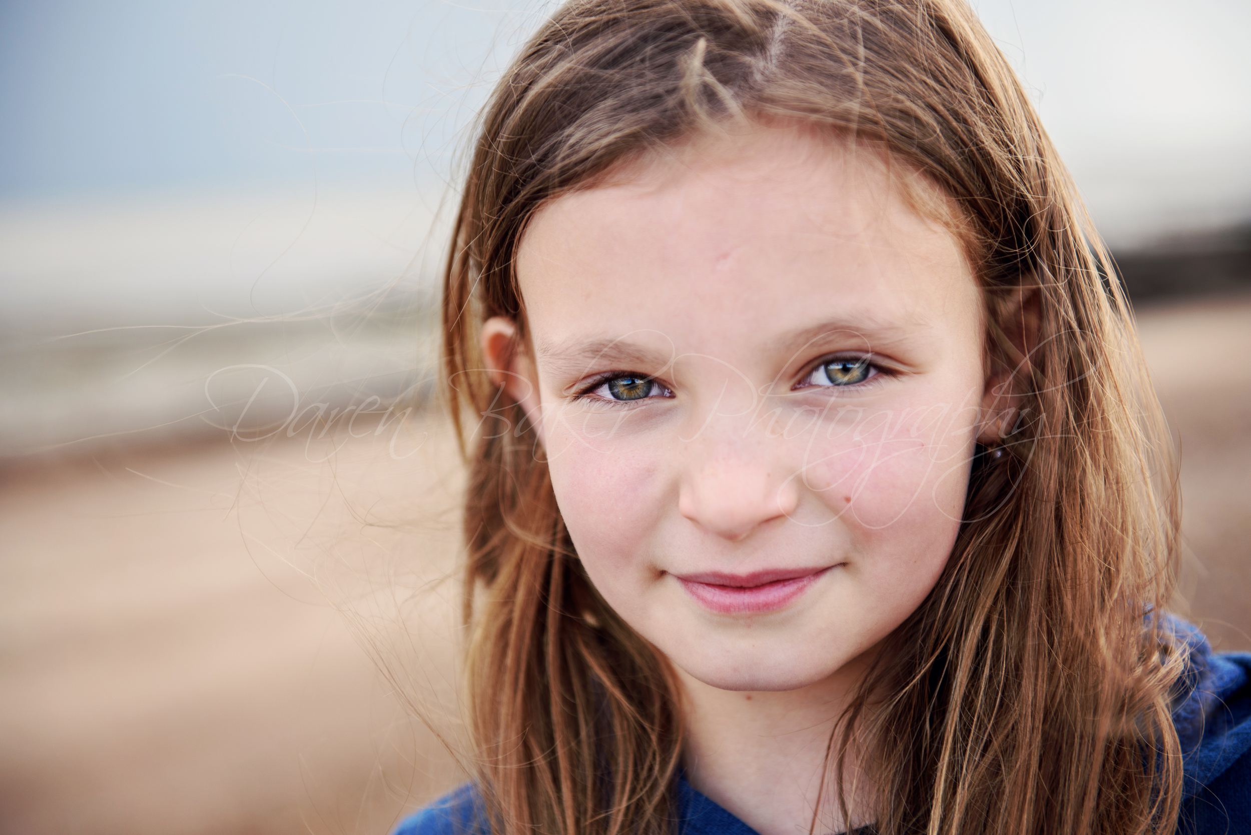 Child portrait, Ferring beach, Sussex