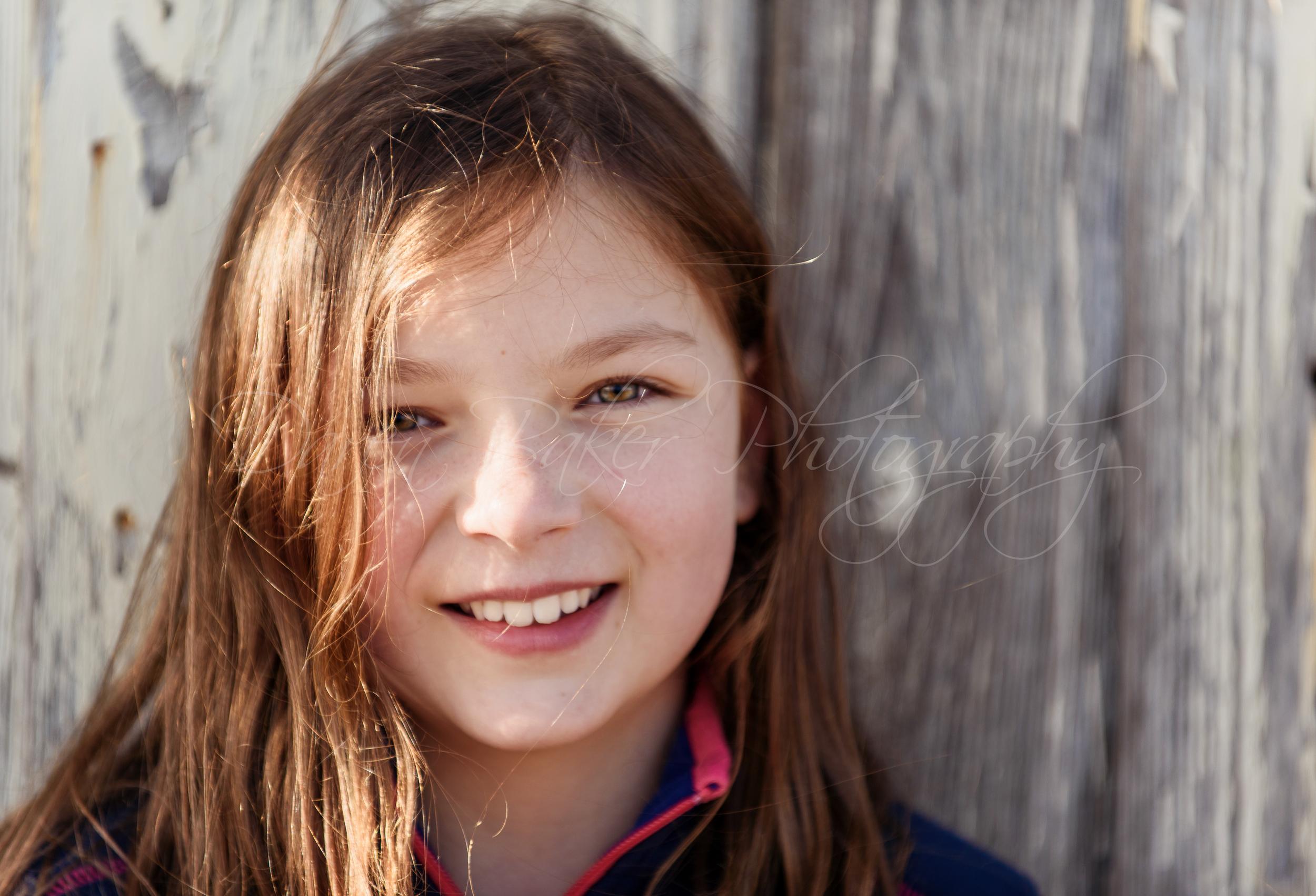 Beautiful child portrait, Sussex