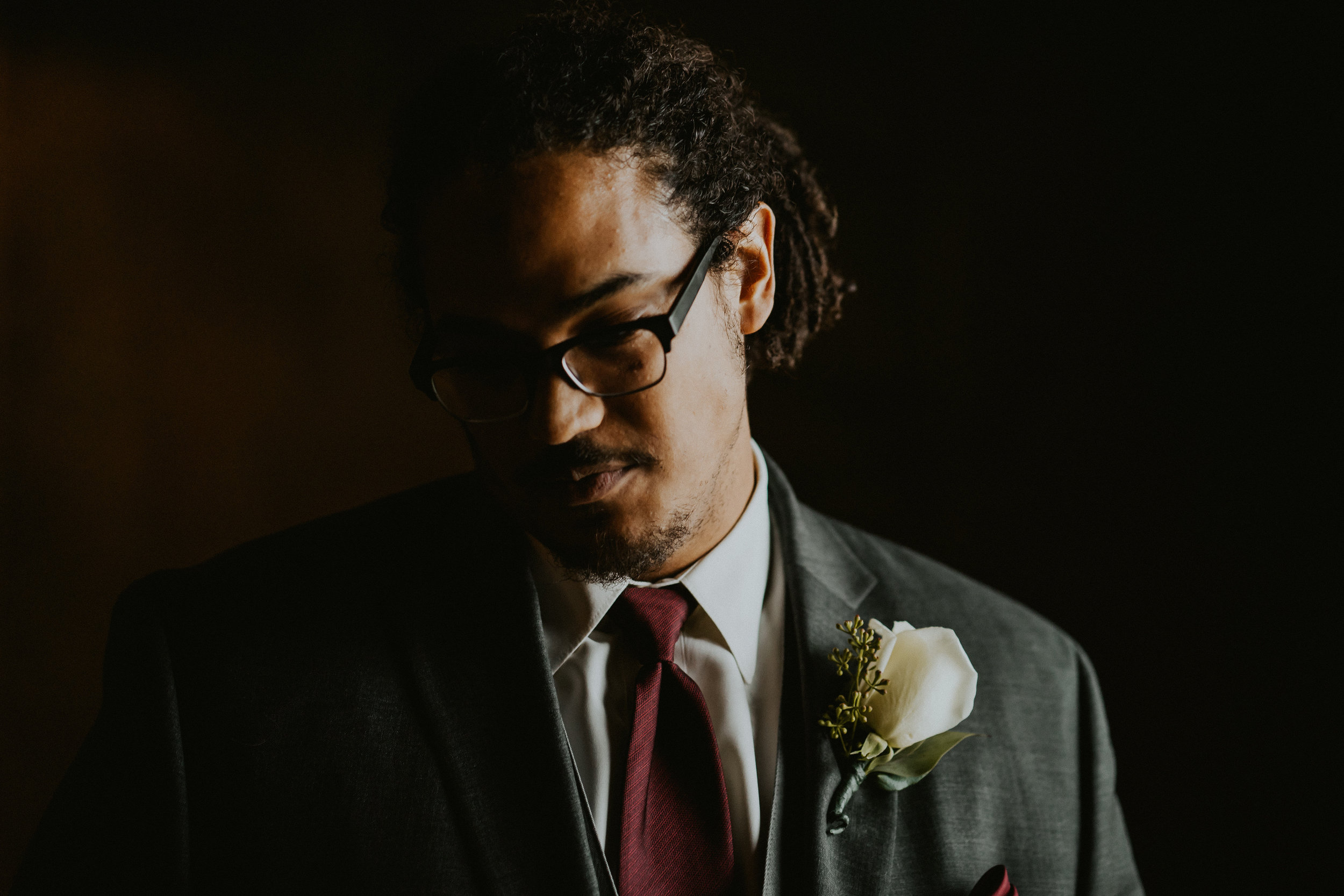 Groom portrait photo Seattle Wedding Photographer
