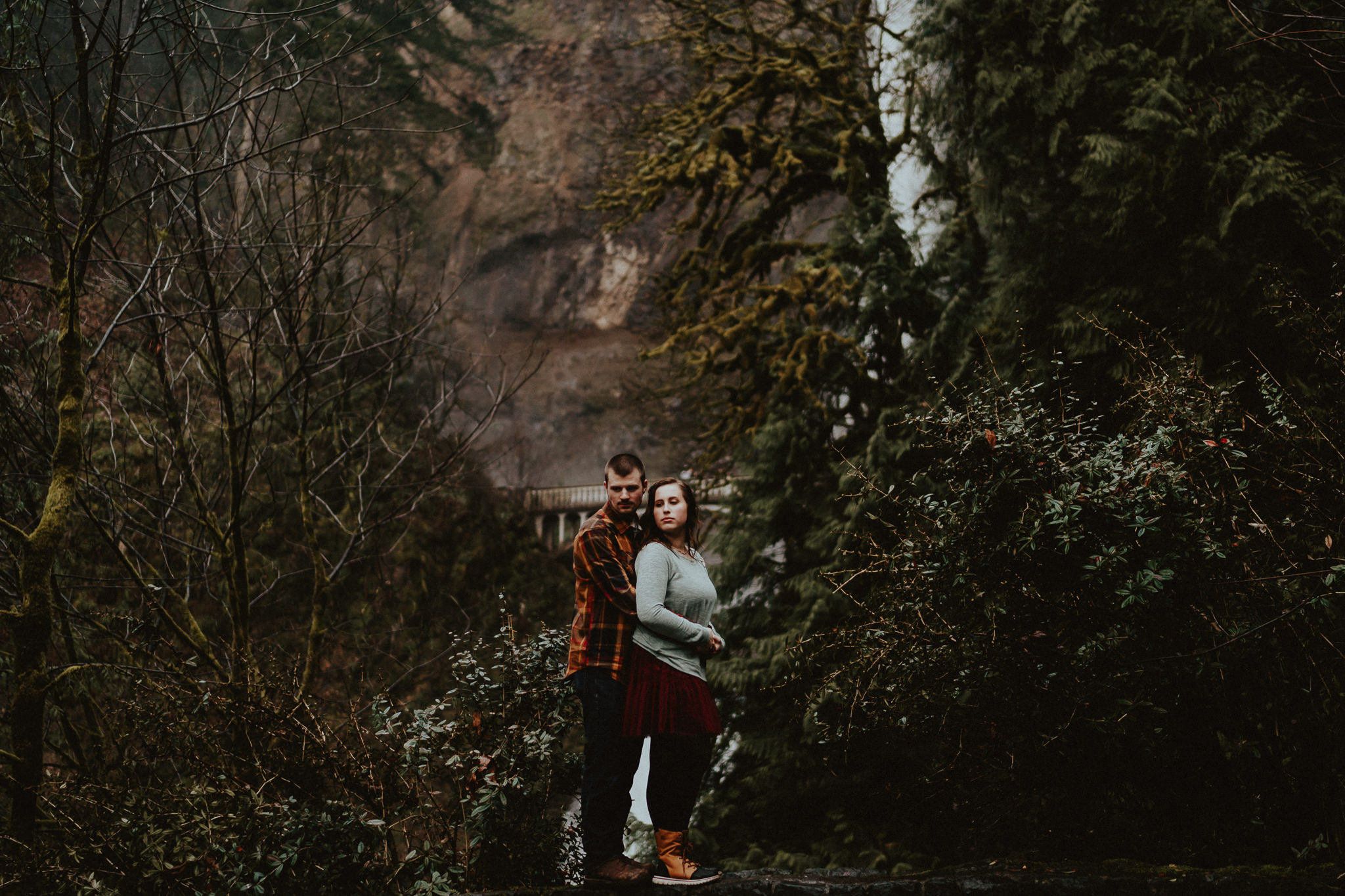 Multnomah Falls Photography Wedding