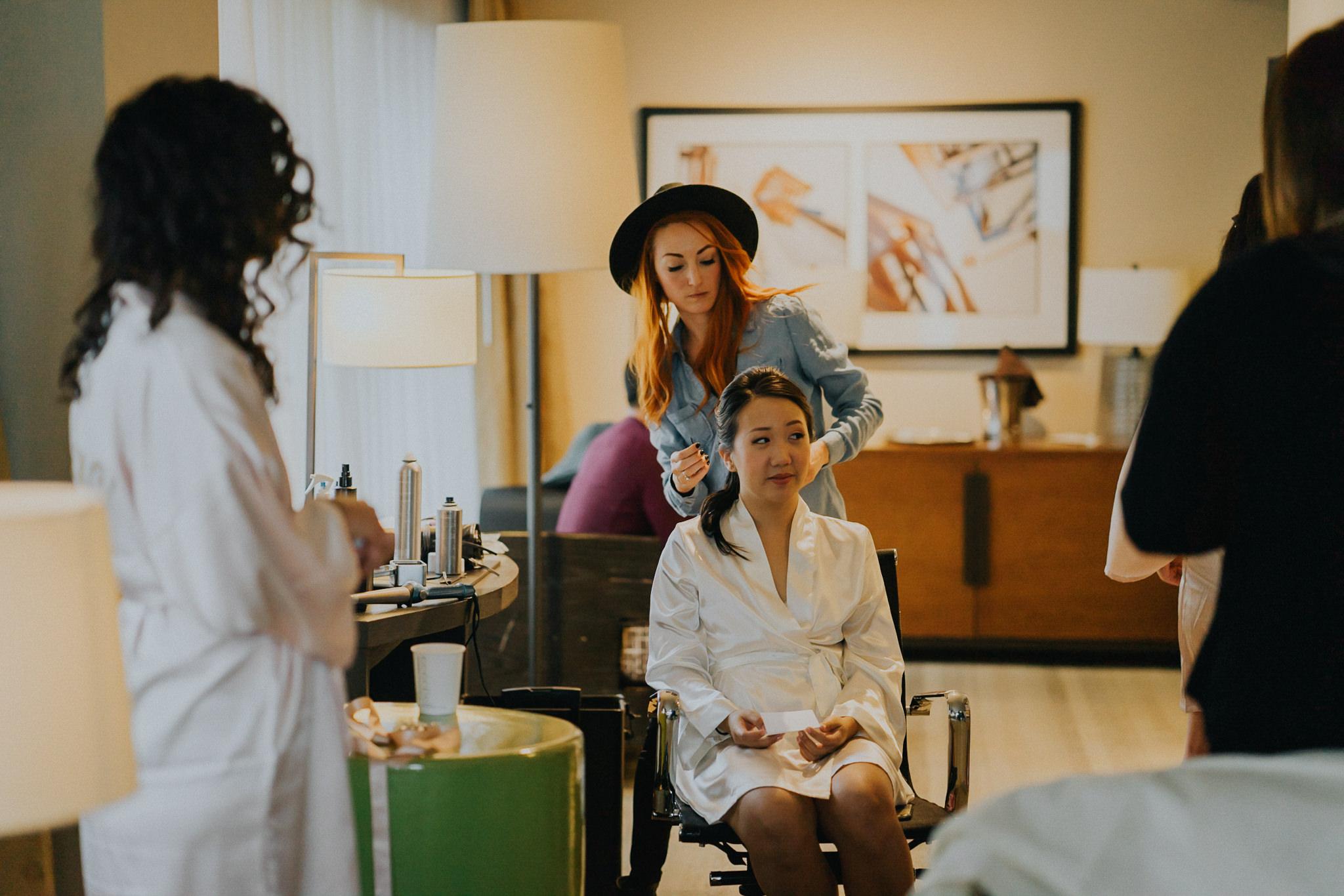 Make-up artist Seattle Wedding