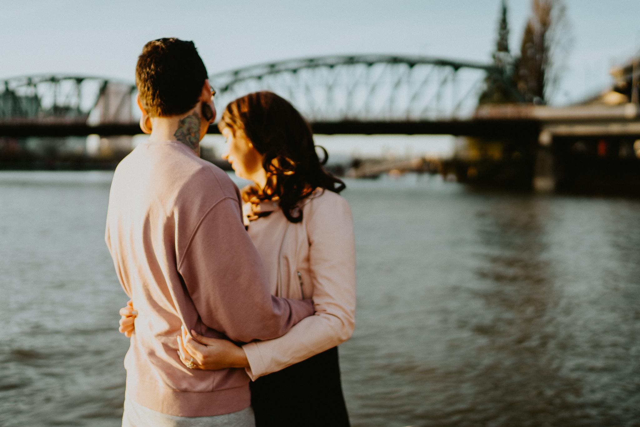 Portland Wedding Photographer Waterfront