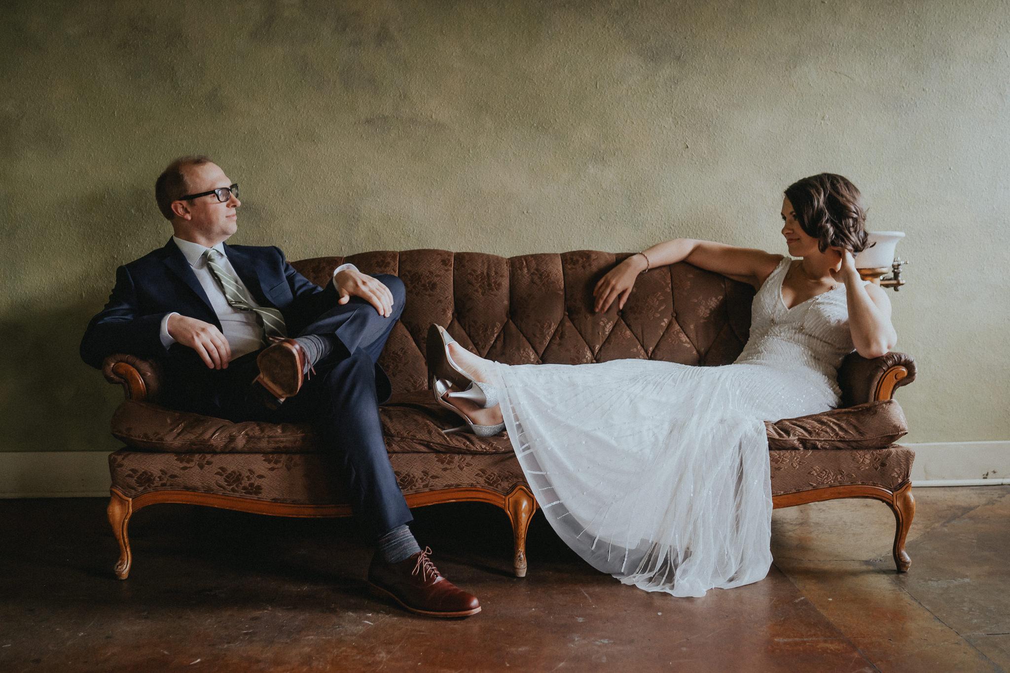 Vintage-Wedding-Sweetheart-Seat-Portland-Wedding