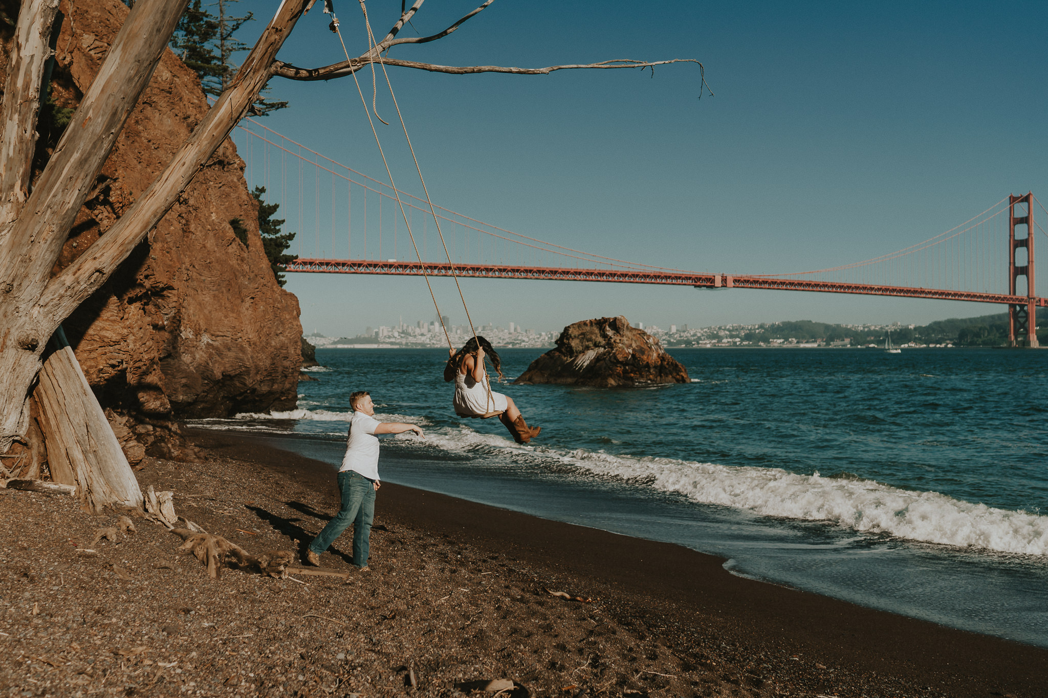 Kirby Cove Swing San Francisco