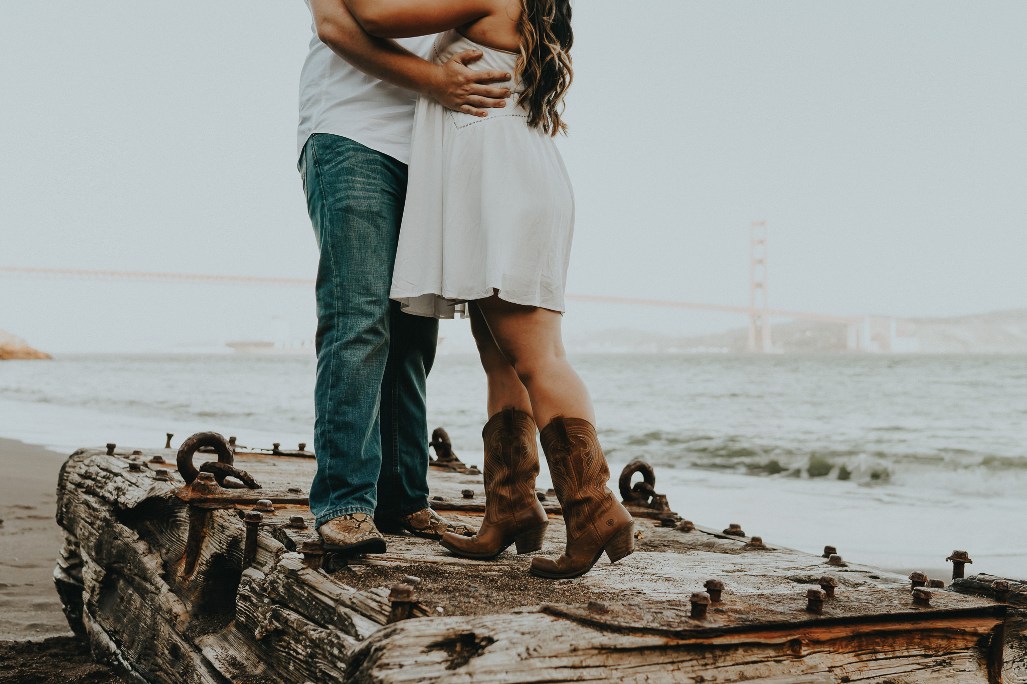 Cowboy boots Engagement Photography