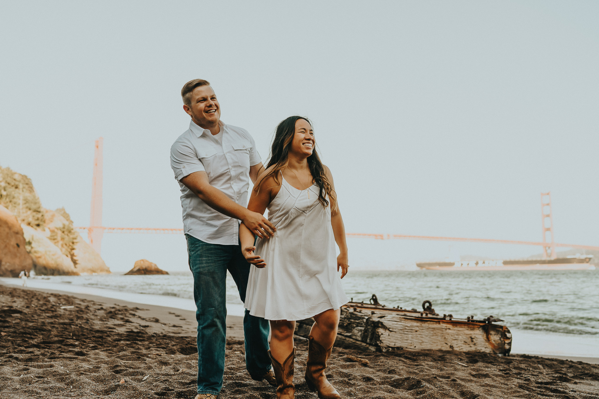 Laughing Connection Engagement Session