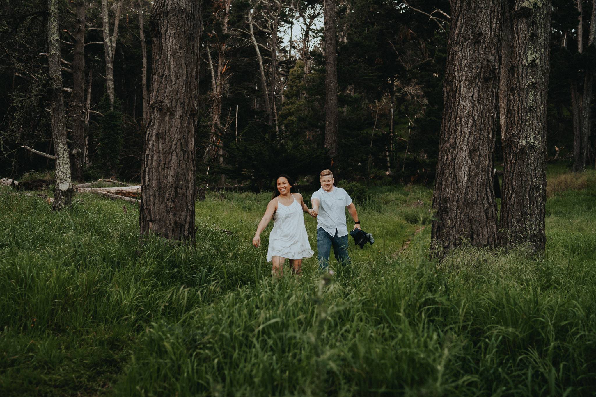 Marin Headlands Engagement Session Alfred Tang