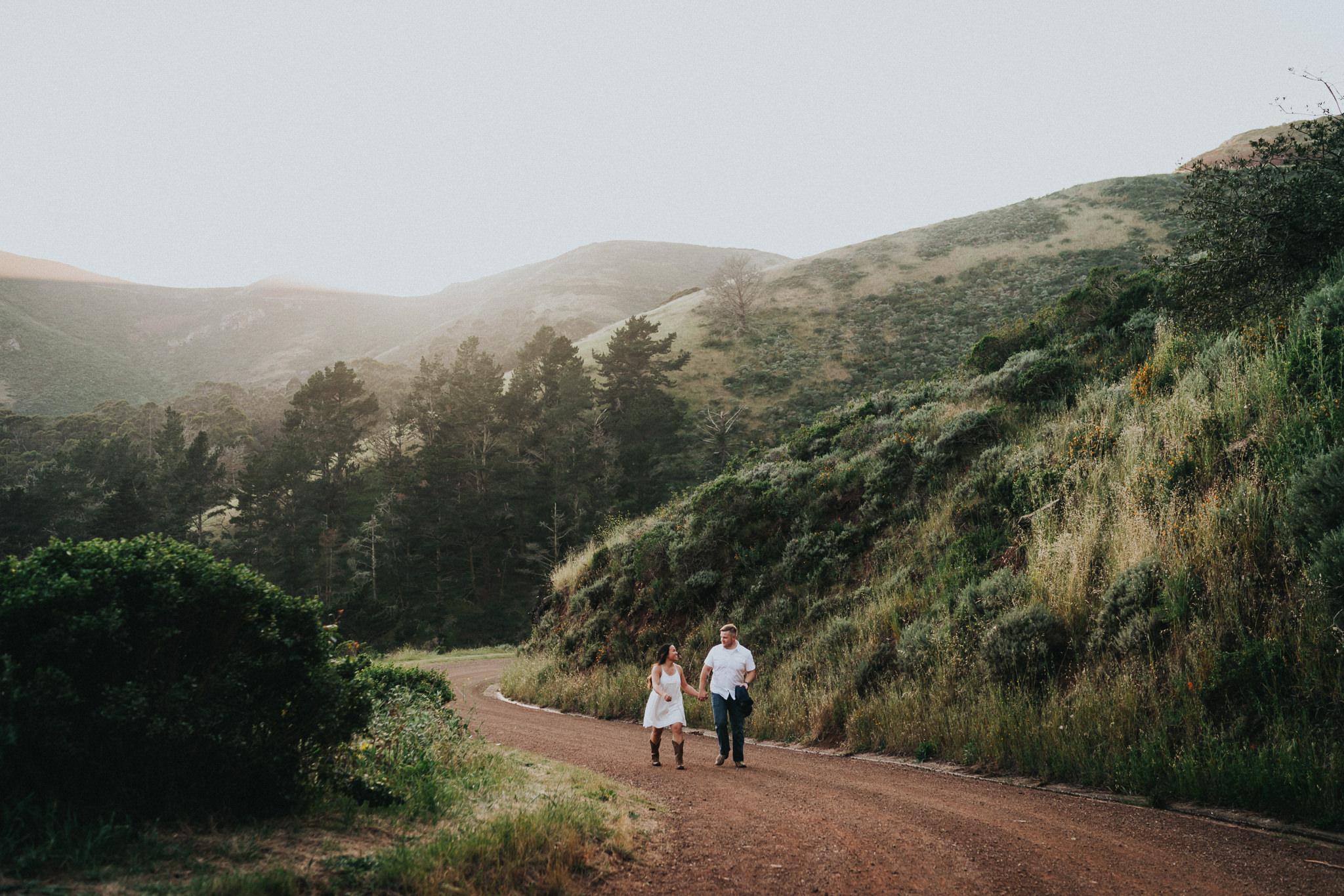Landscape Engagement Photography Marin Headlands