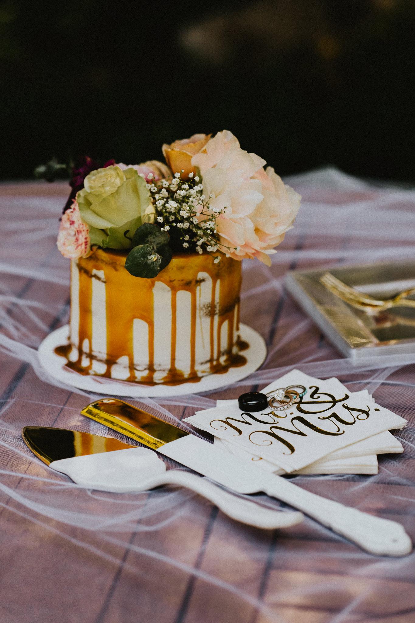 Stylized-Cake-Elopement-Wedding-Photographer