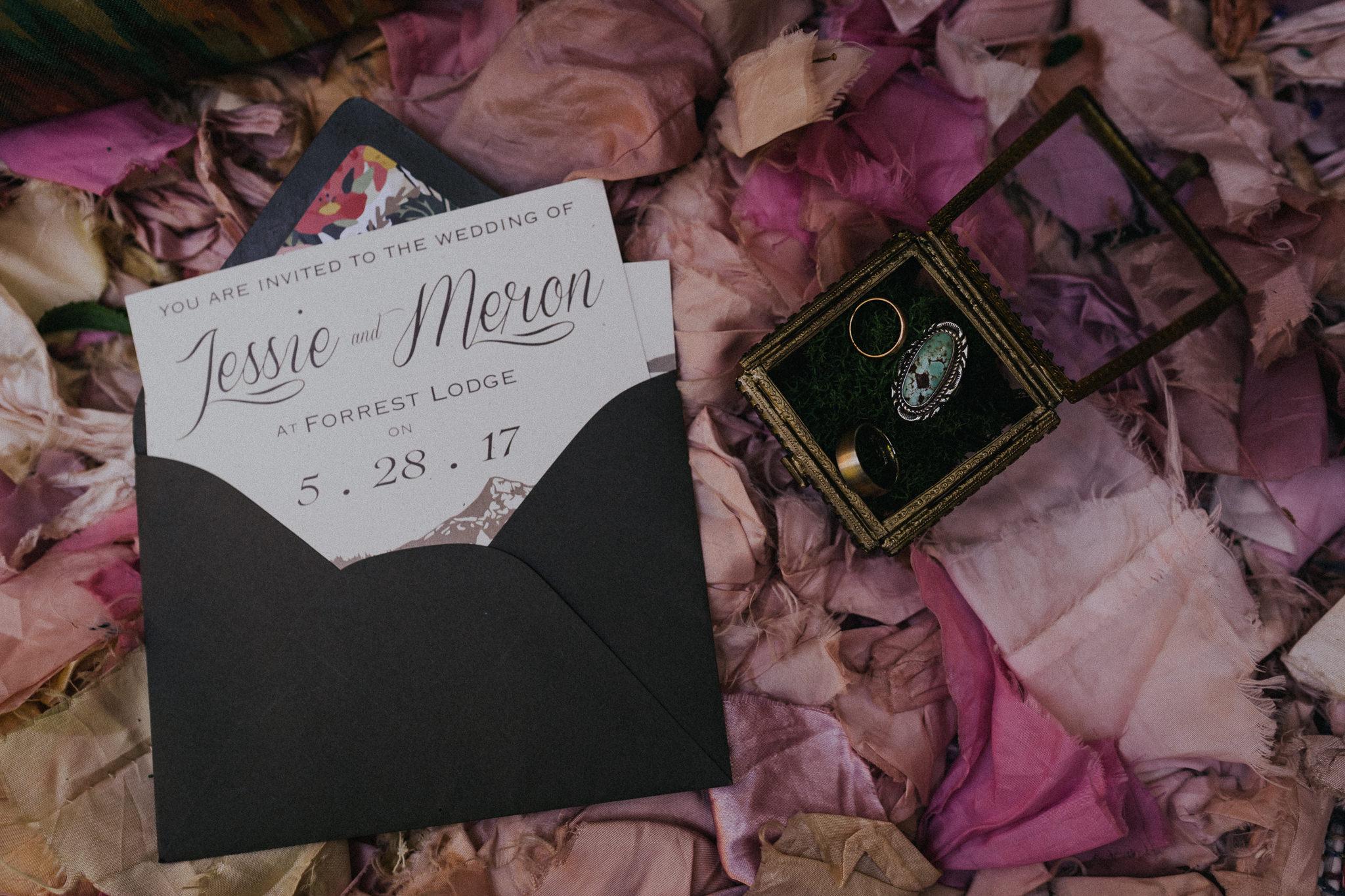Wedding-Invitation-envelope-Oregon-Photographer