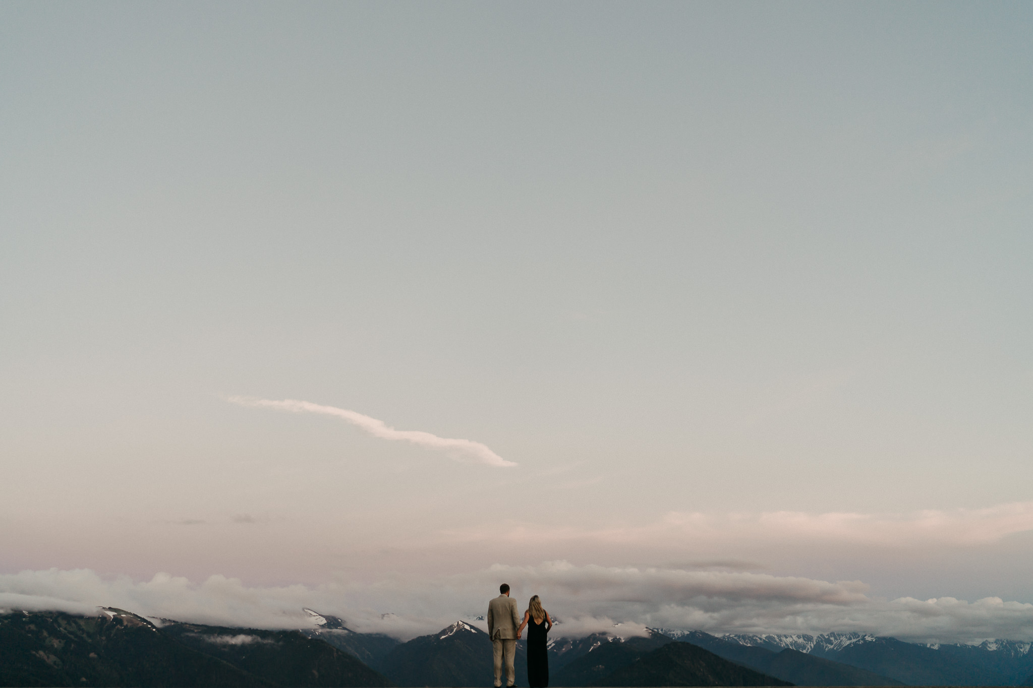Olympic-National-Park-Above-Clouds-Engagement-photographer