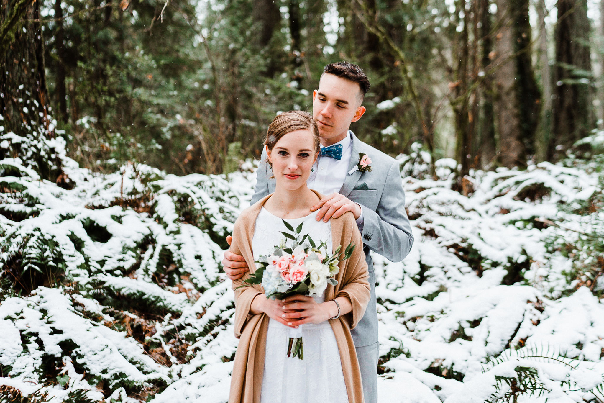 Seattle Elopement Destination Wedding