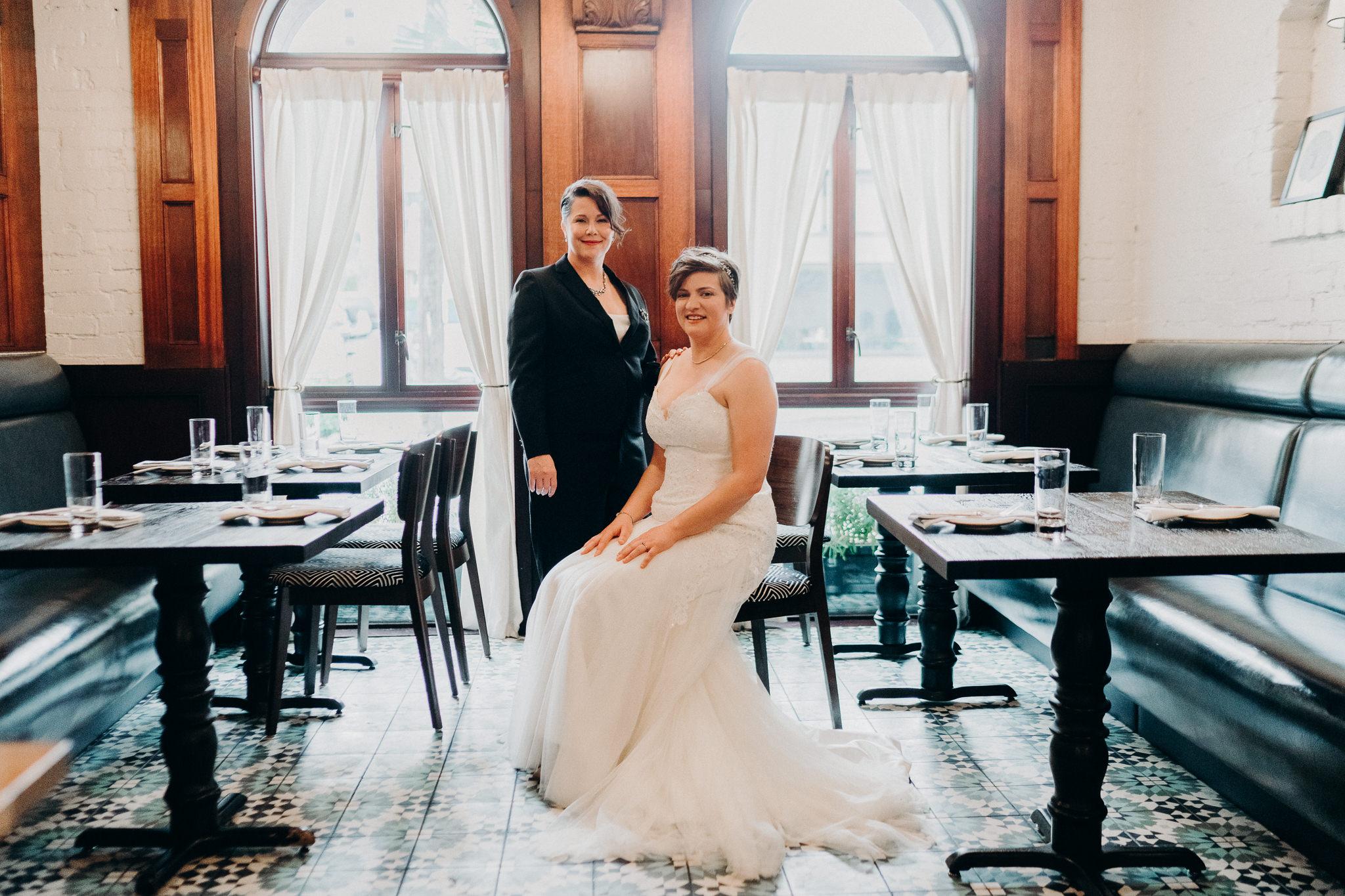 Bridal Portrait Hotel Sorrento Seattle