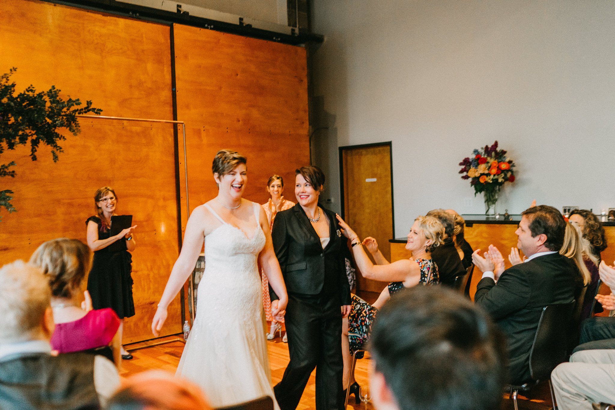 happy lesbians Wedding photography