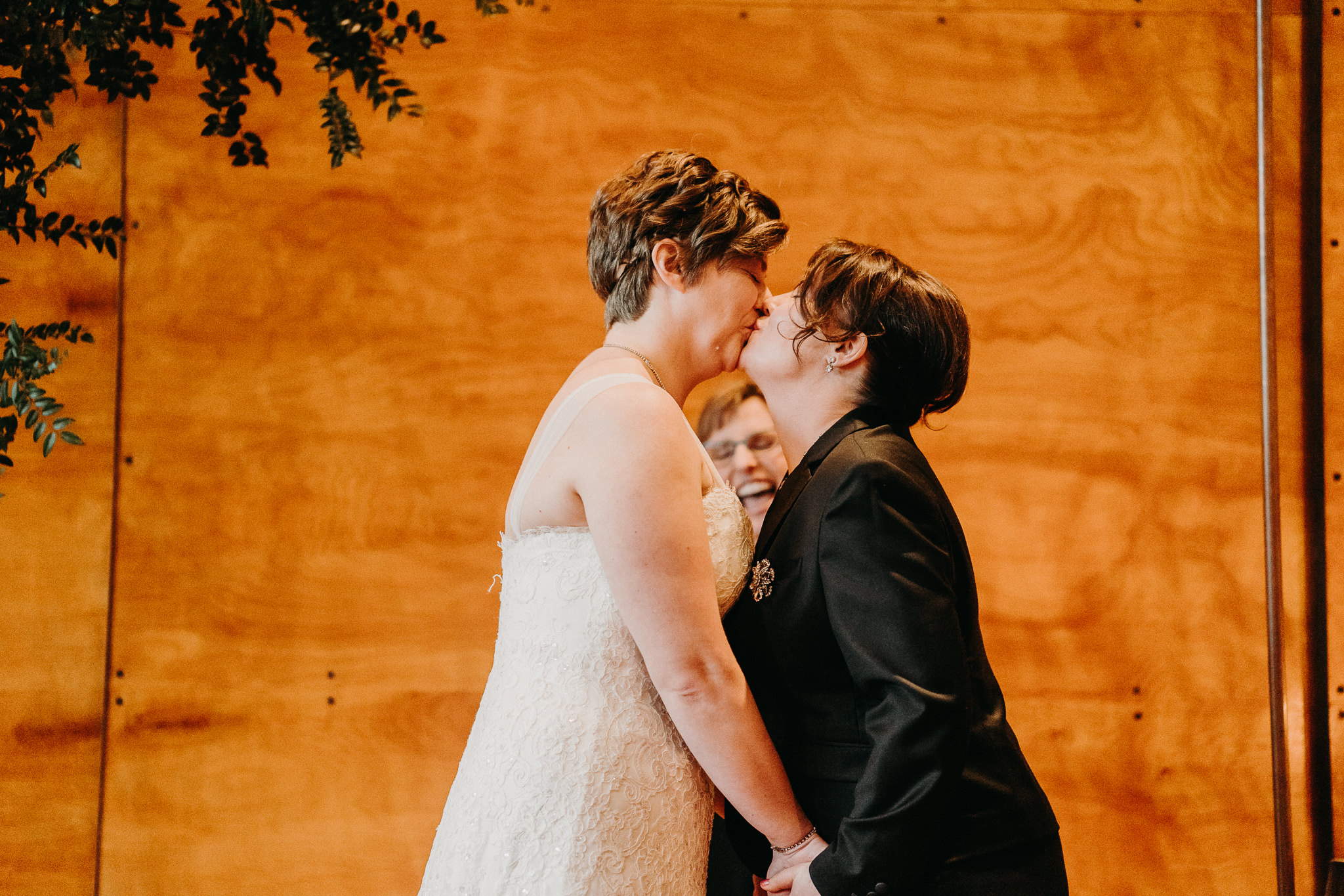 Close up 10 degrees Seattle Wedding Venue