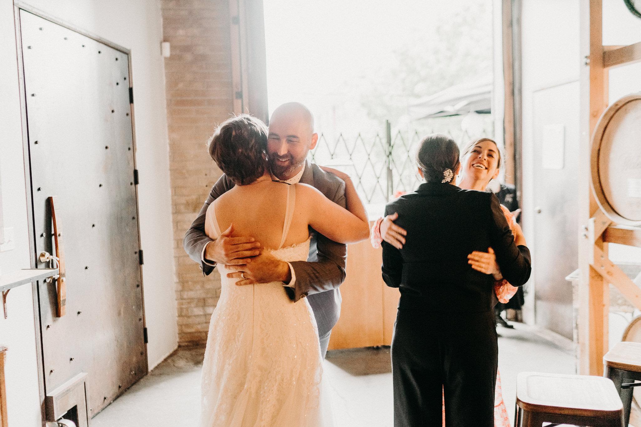 Happy Best Man Seattle Wedding