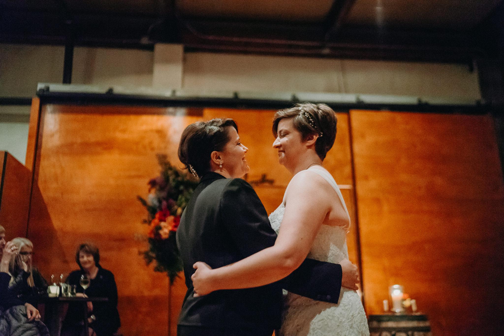 Bride First Dance Portrait