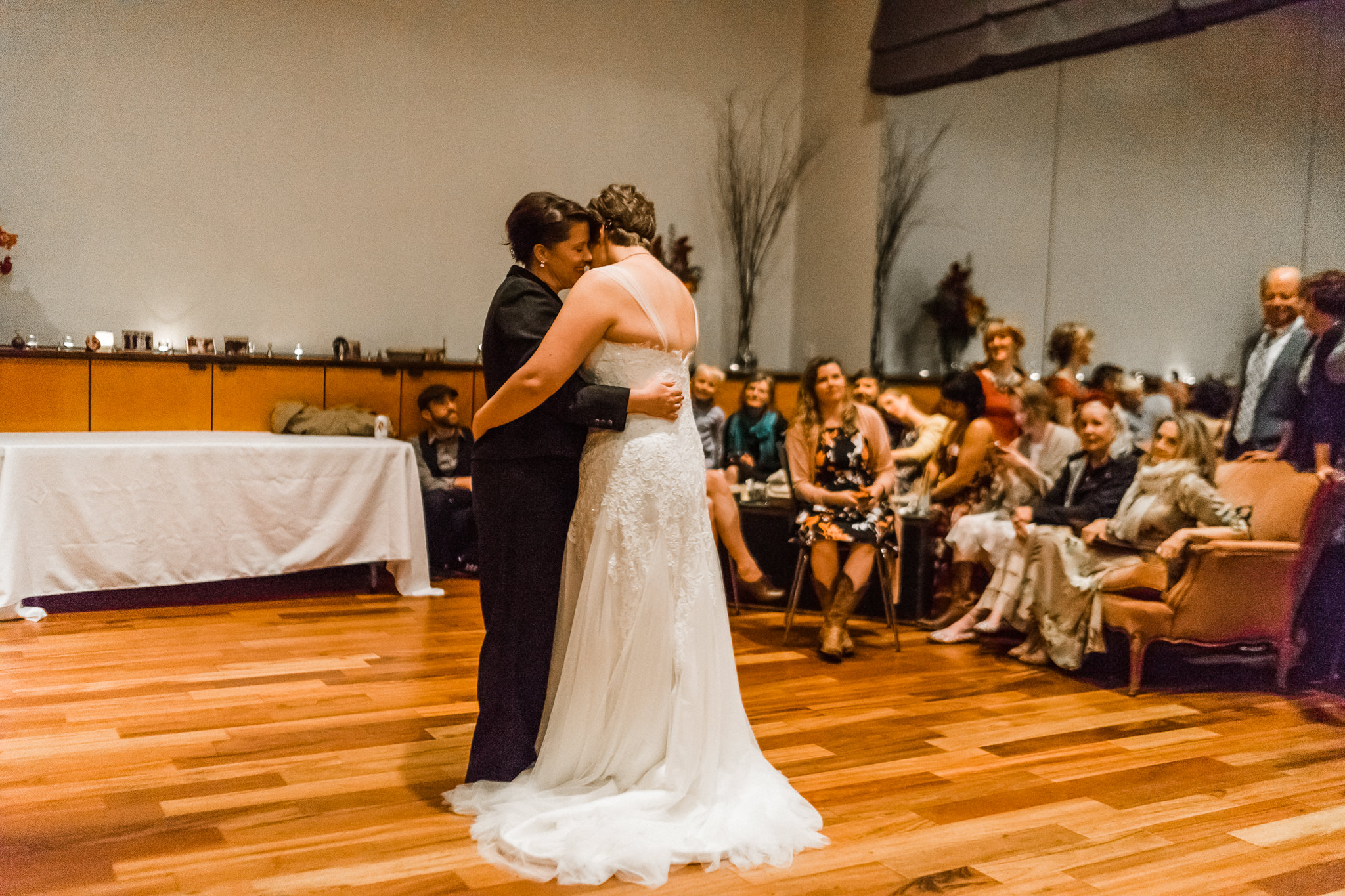 Hold close Brides first Dance emotional