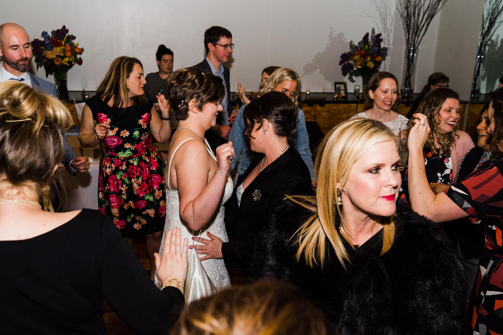 LGBQ Party Degrees Wedding Reception