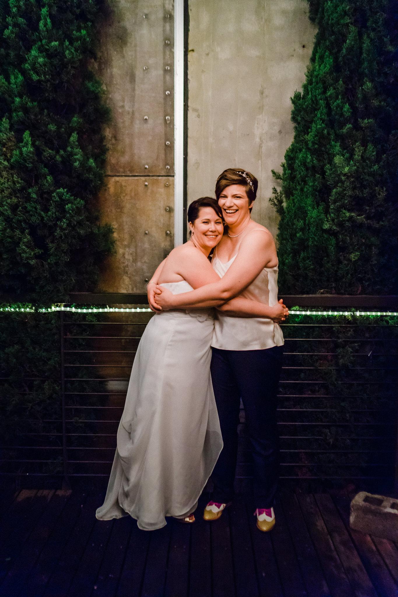 Seattle Best Lesbian Wedding Photographer
