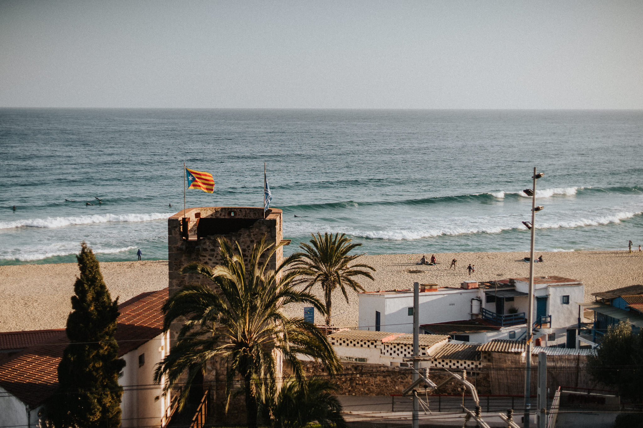 Catalonia Montgat coastal city mediterranean sea
