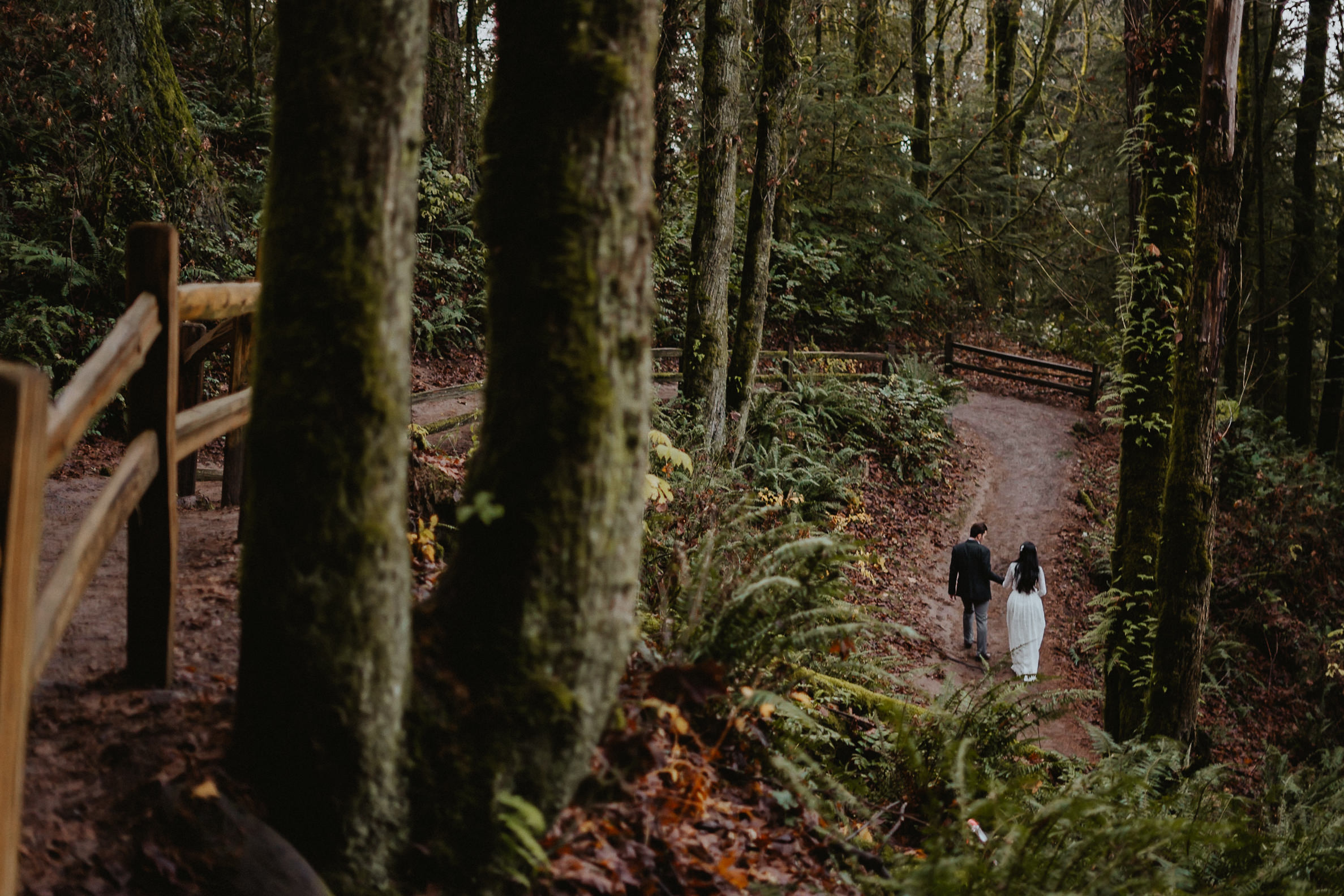 Portland Forest Park best engagement photographer