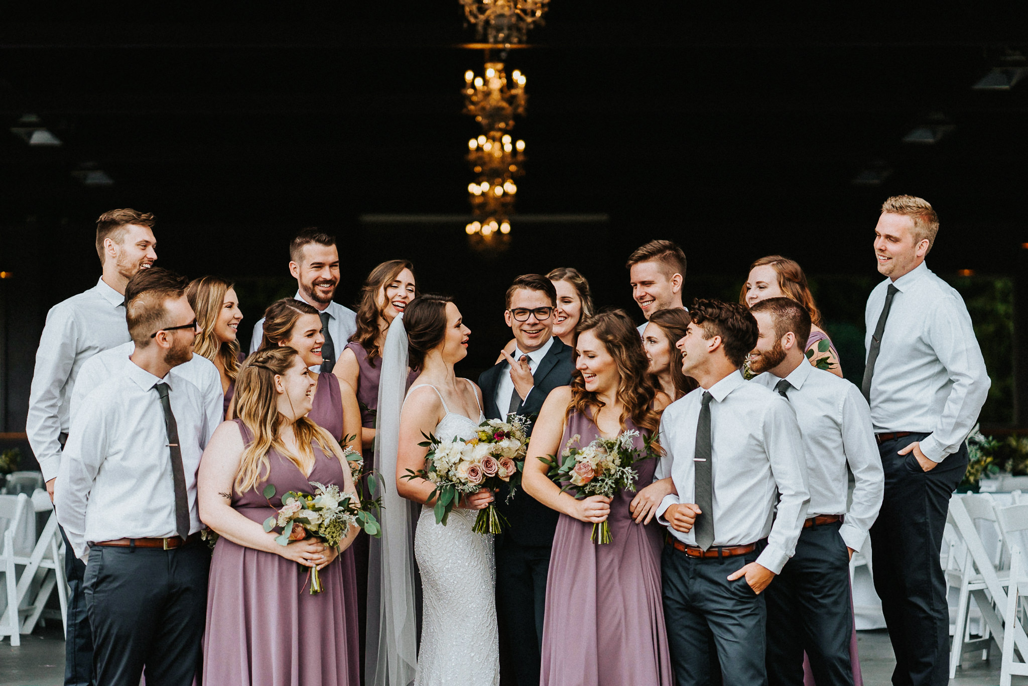 Silly Bride Groom point Wedding Party Photography Alfred Tang Portland's best