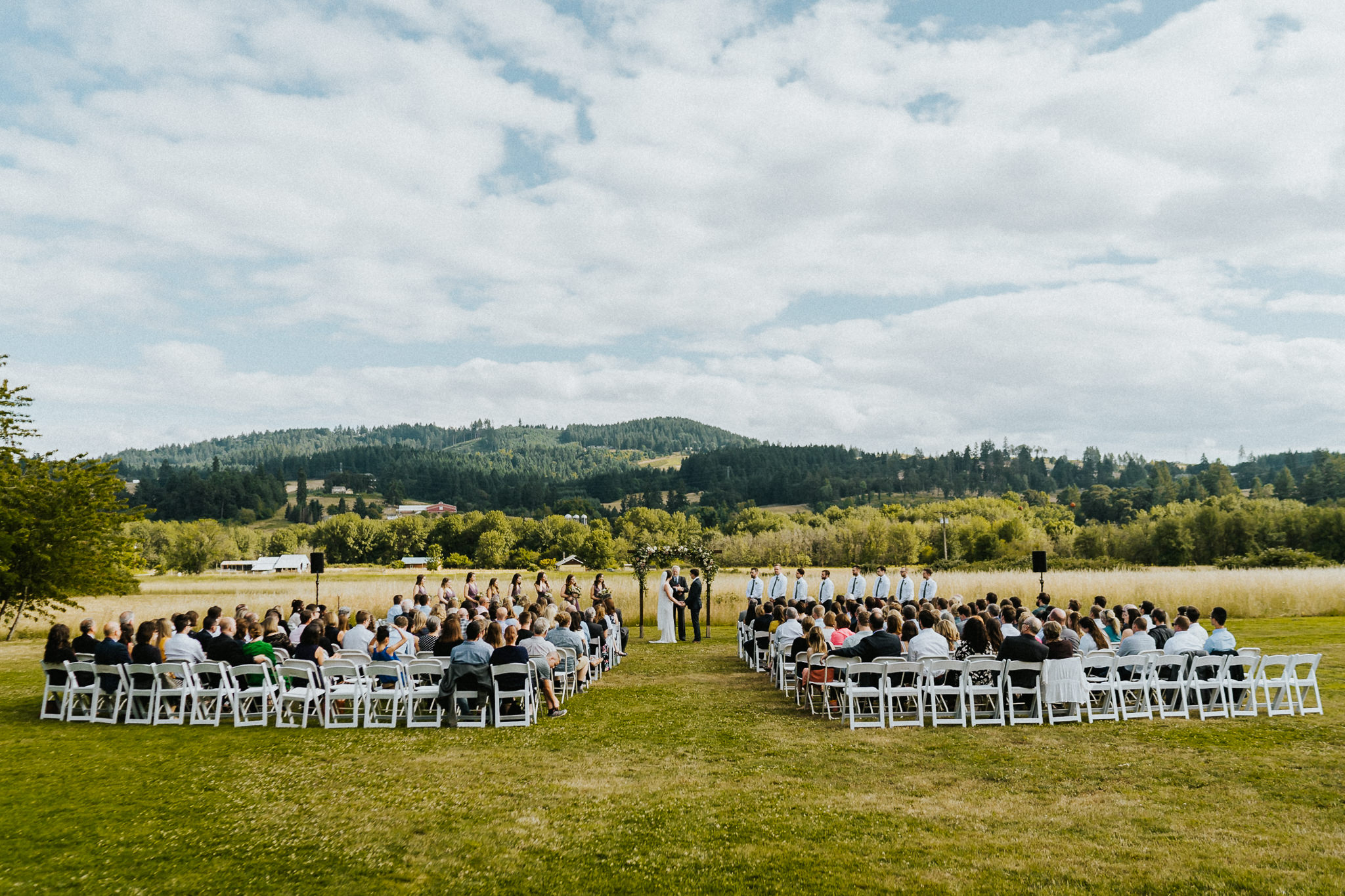 Landscape Wedding Photography Water Oasis Ceremony site
