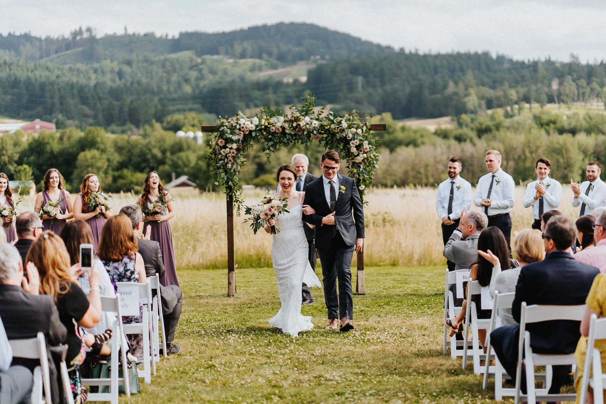 Water Oasis ceremony Best Oregon Wedding Photographer Alfred Tang