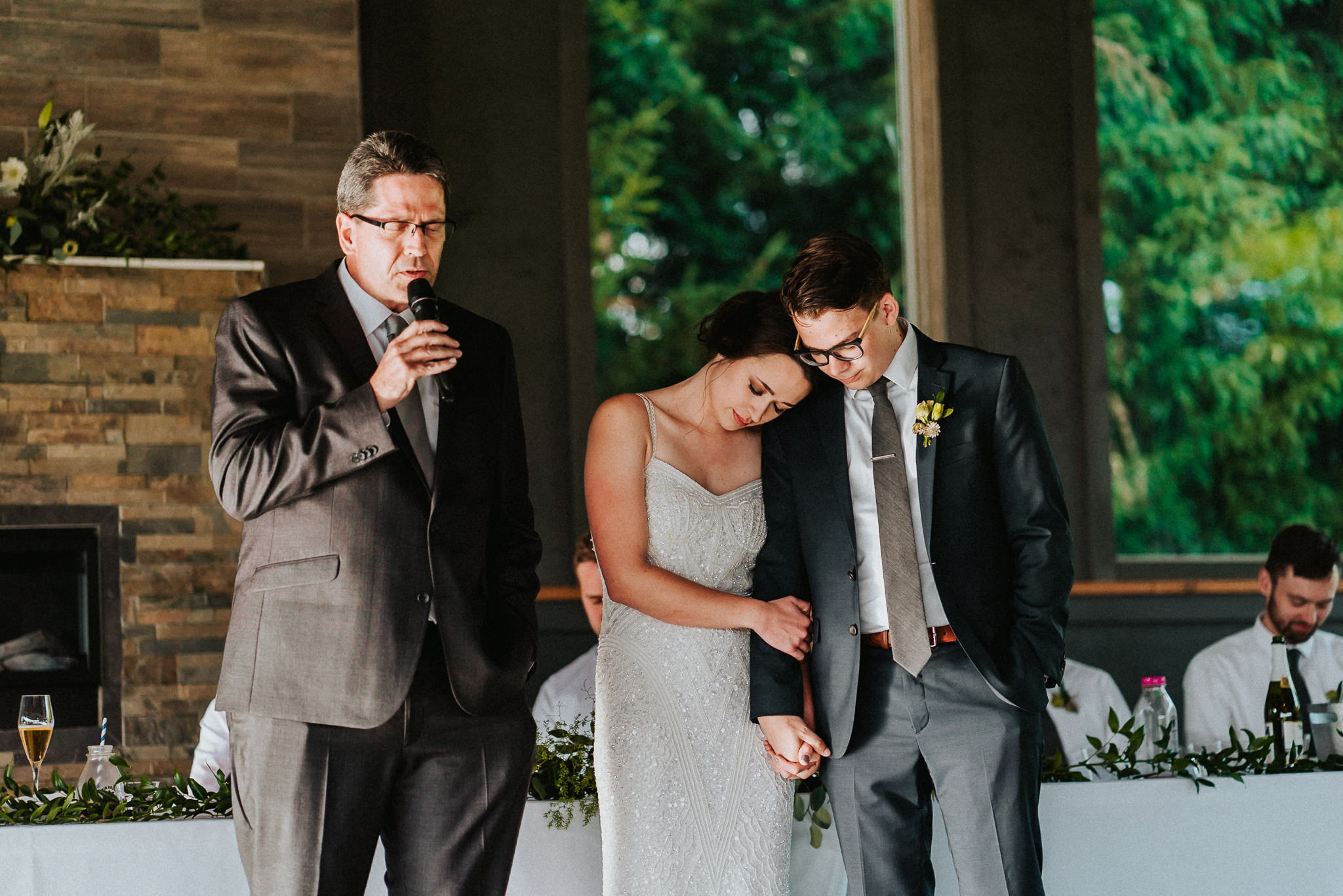Father Bride Groom Prayer Blessing Wedding Union