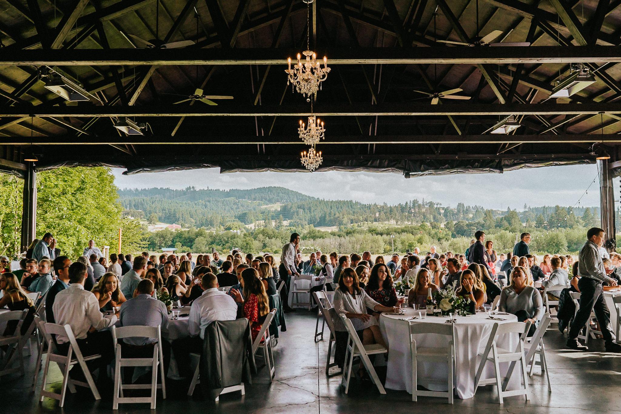 Water Oasis Backdrop Background Wedding Venue Oregon