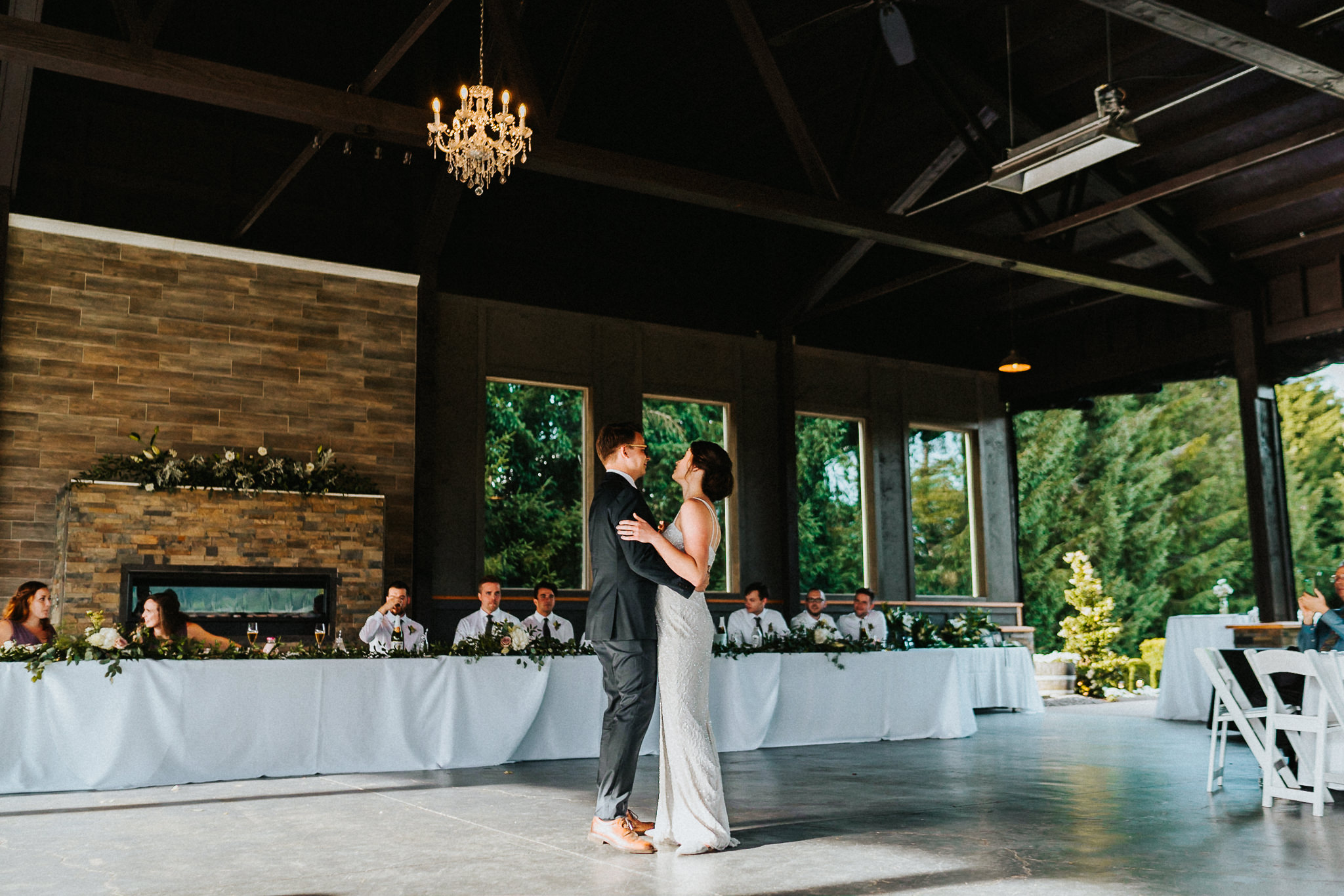 First Dance Water Oasis Alfred Tang Wedding Photography