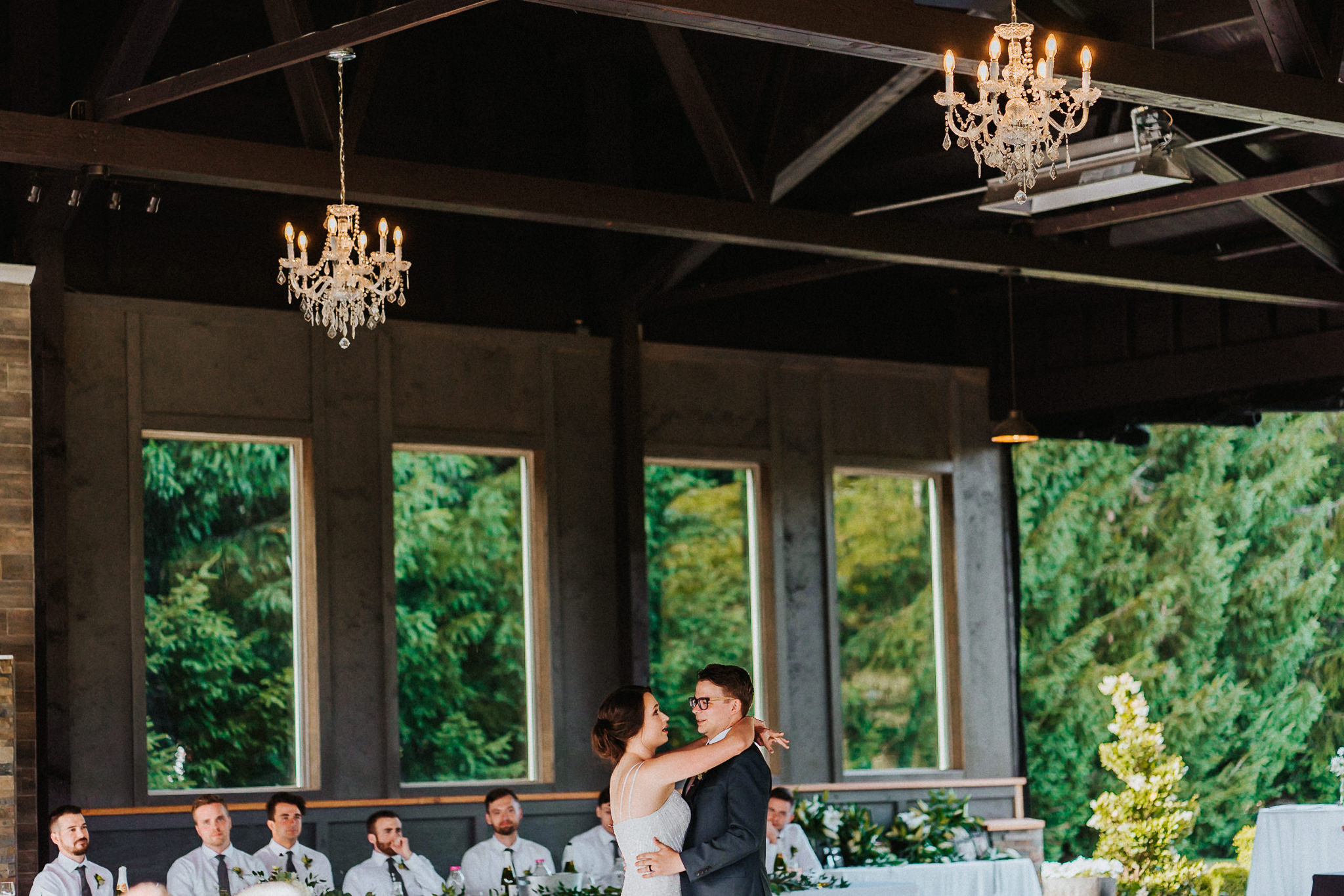 First Dance Reception Alfred Tang Photography Portland Wedding