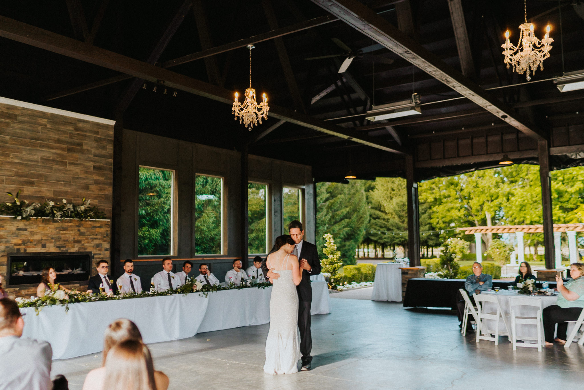 Father Daughter Bride Dance Newberg Favorite Photographer