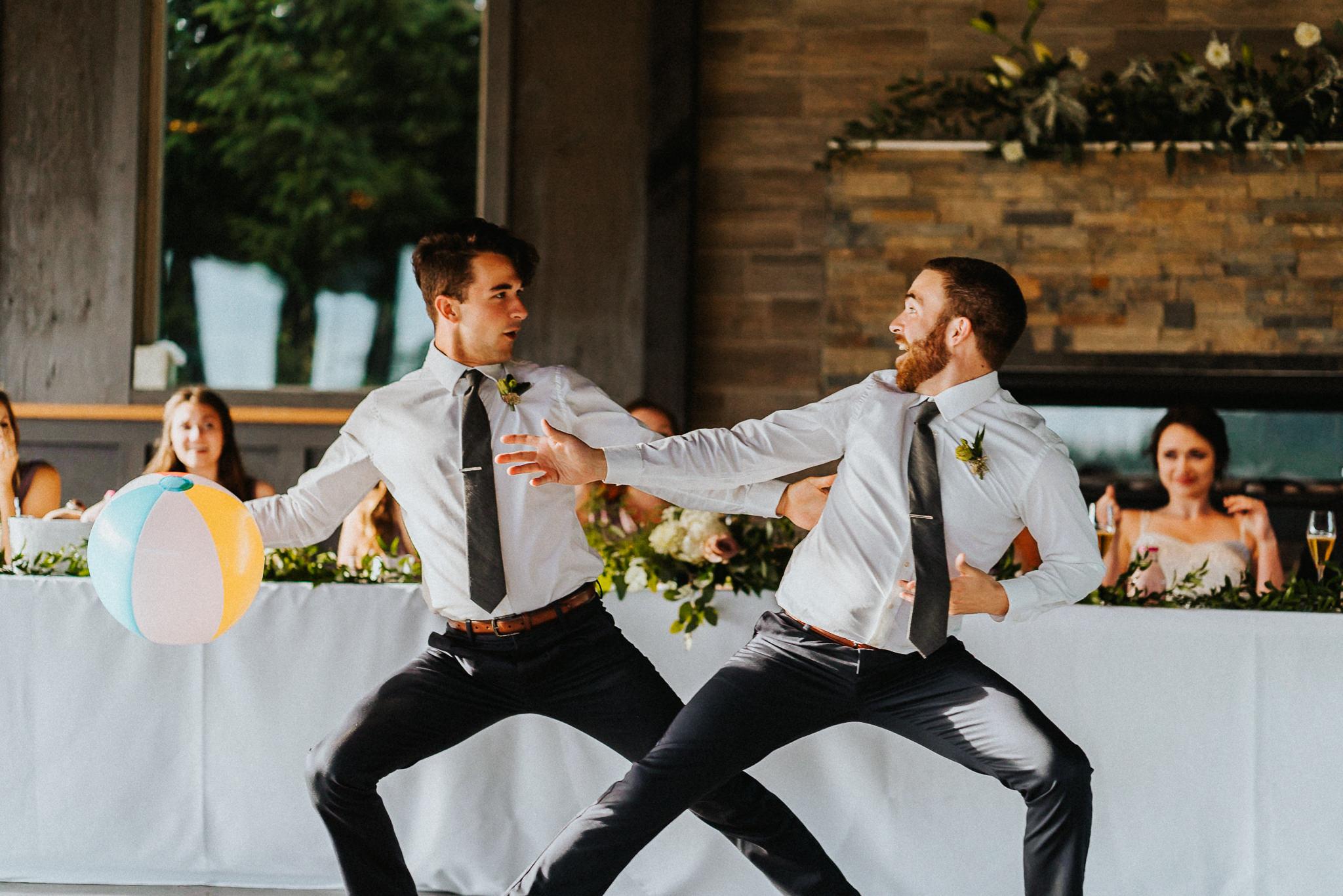 Brother family Wedding Reception Photography Oregon