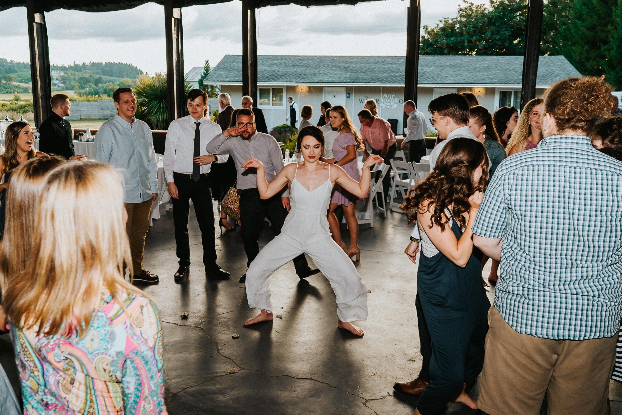 Bride Dance Reception Pantsuit
